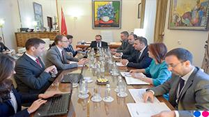 Guvernatori Sejko në takimin me misionin e FMN-së, 6 nëntor 2018