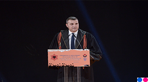 Governor Sejko at the graduation ceremony of the students of economics, University of Tirana, 07.11.2018
