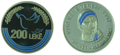"Commemorative 200 Leke ""Mother Teresa"""