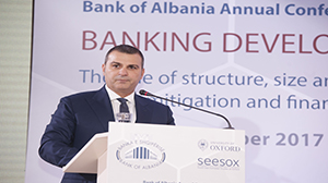 Highlights Annual  Conference 2017 of Bank of Albania