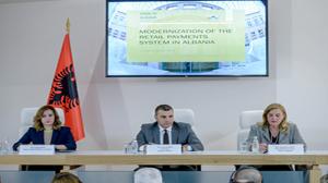 """Konferenca me temë """"Modernizimi i sistemeve të pagesave me vlerë të vogël në Shqipëri"""", 21 qershor 2018"""