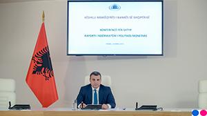 Guvernatori Sejko në konferencën për shtyp për vendimmarrjen e politikës monetare, 3 korrik 2019
