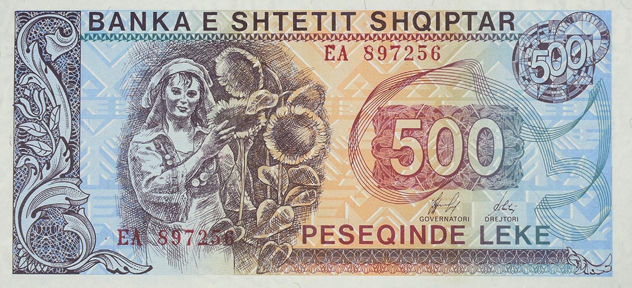 500 LEKE, issued in 1991, 1992, 1993, 1996, 1997.