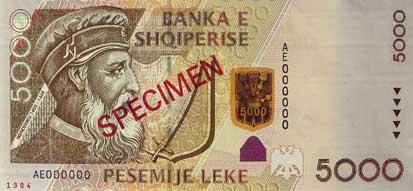 5000 Lek