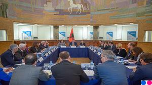 Guvernatori Sejko takim me drejtorët e bankave tregtare, lidhur me ndikimin e tërmetit në ekonomi dhe masave për t'u ndërmarrë nga sistemi bankar