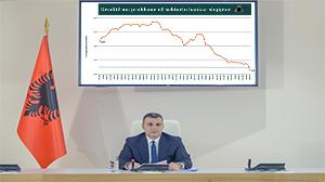 Konferencë për shtyp e Guvernatorit Sejko për vendimmarrjen e politikës monetare, 06.02.2019
