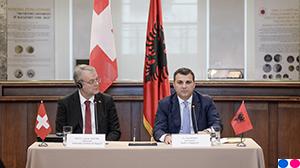 Ceremonia e nënshkrimit të Memorandumit të Mirëkuptimit midis Bankës së Shqipërisë dhe SECO-s