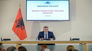 Konferencë për shtyp e Guvernatorit Sejko për vendimmarrjen e politikës monetare, 02.10.2019