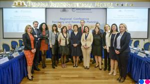 """Konferenca rajonale """"Planifikimi i rimëkëmbjes dhe ndërhyrjes së jashtëzakonshme"""""""