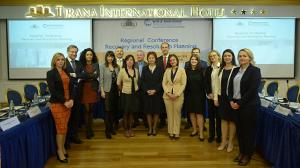 """Konferenca rajonale """"Planifikimi i rimëkëmbjes dhe ndërhyrjes së jashtëzakonshme"""", 15 nëntor 2018"""