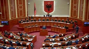 Guvernatori Sejko në prezantimin e Raportit Vjetor të Bankës së Shqipërisë për vitin 2018 në Kuvend, 8 maj 2019