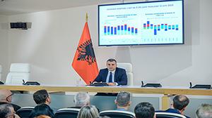 Konferencë për shtyp e Guvernatorit Sejko për vendimmarrjen e politikës monetare, 06.11.2019
