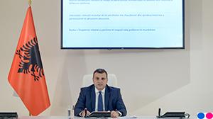Guvernatori Sejko në konferencën për shtyp për vendimmarrjen e politikës monetare, 8 maj 2019