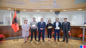 ''Çmimi i Guvernatorit për Diplomën më të Mirë për vitin 2018'', 20.12.2018