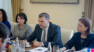 Guvernatori Sejko në takim me misionin e Fondit Monetar Ndërkombëtar, 25 prill 2019