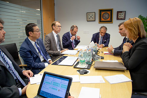 Governor Sejko attends IMF and WBG Spring Meetings 2019