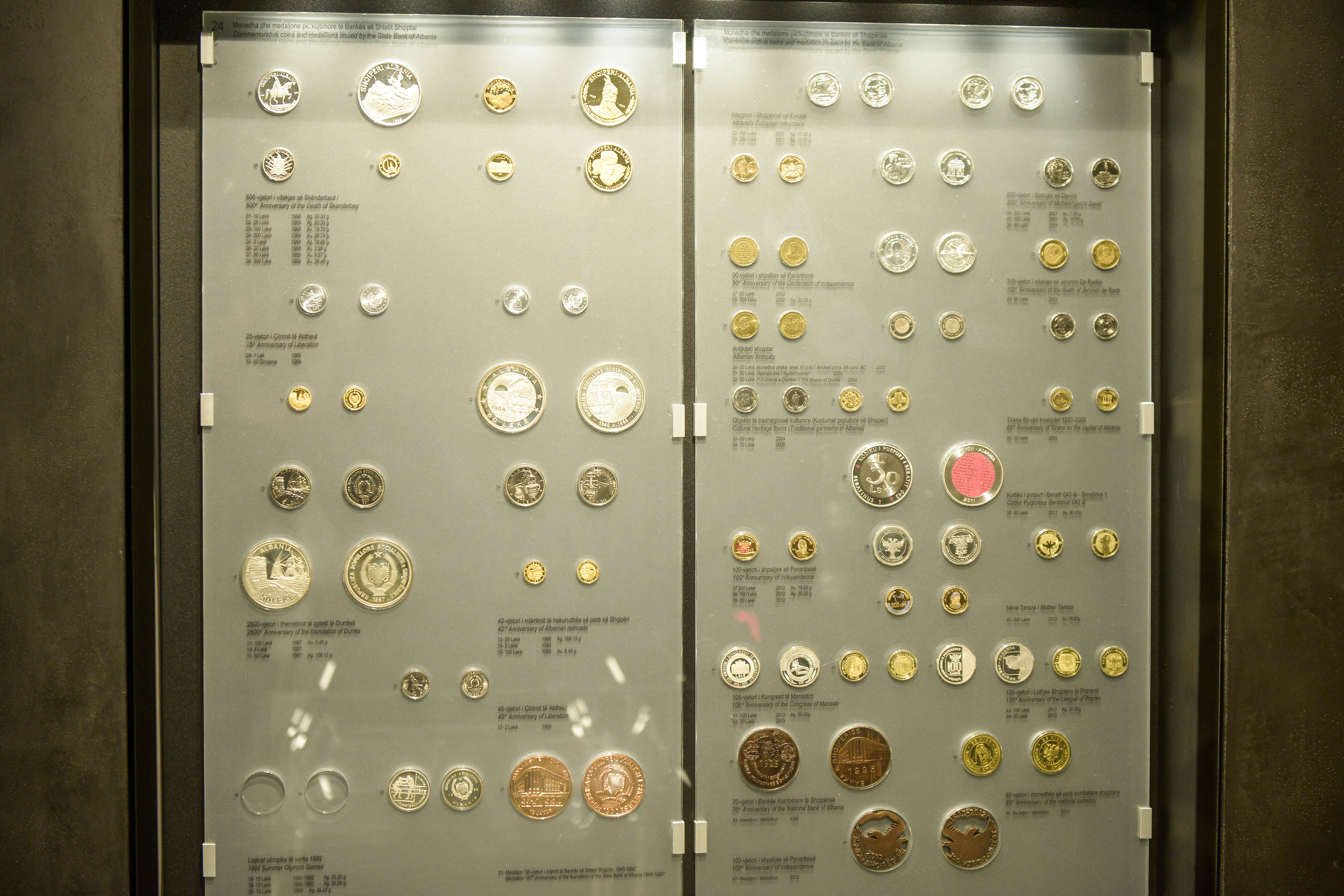 Coins' collection