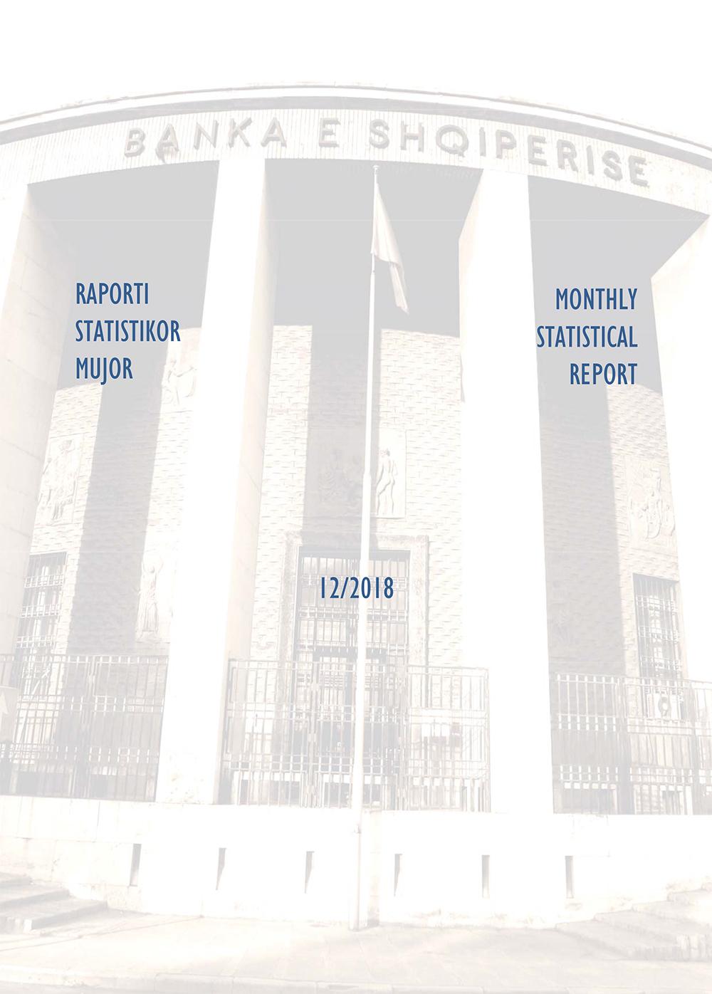 Raporti Statistikor - dhjetor '18