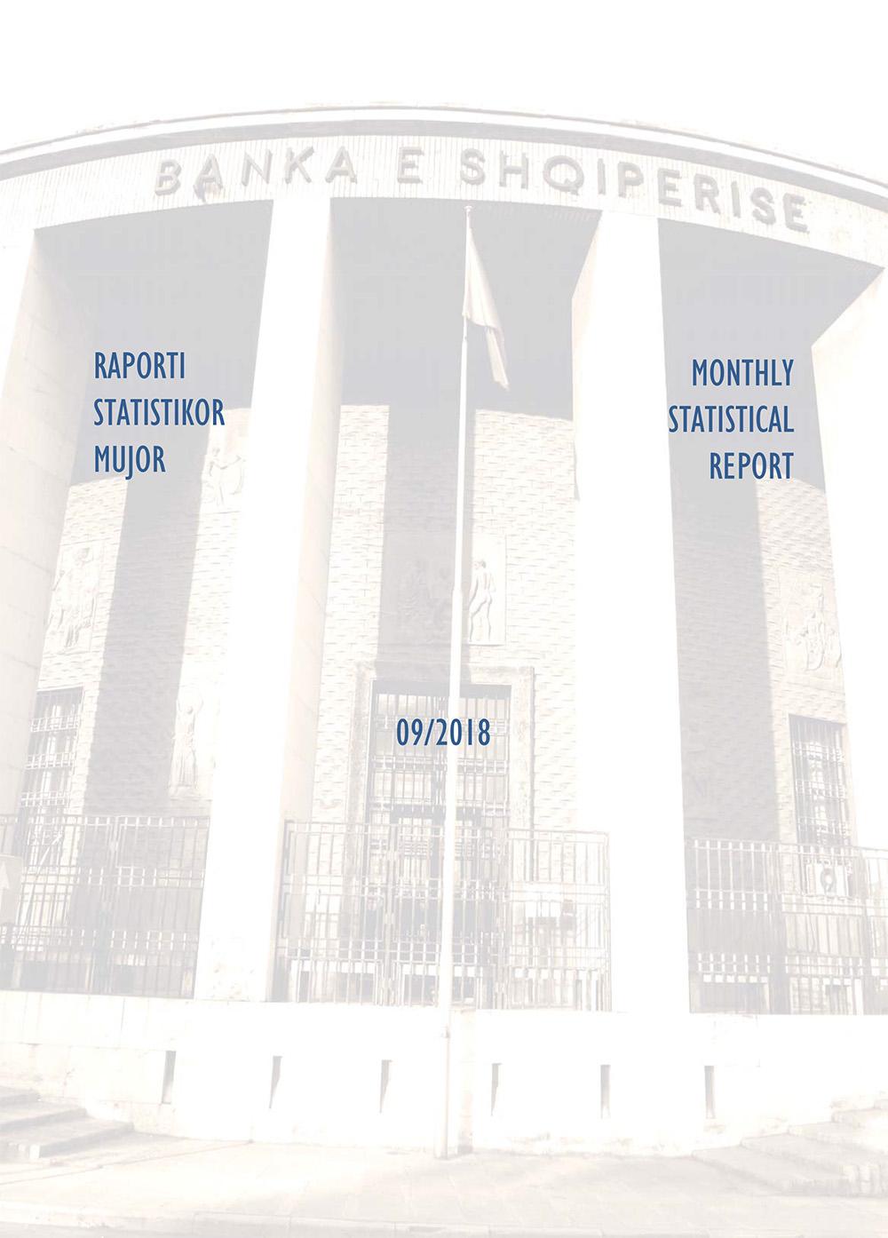 Raporti Statistikor - shtator '18