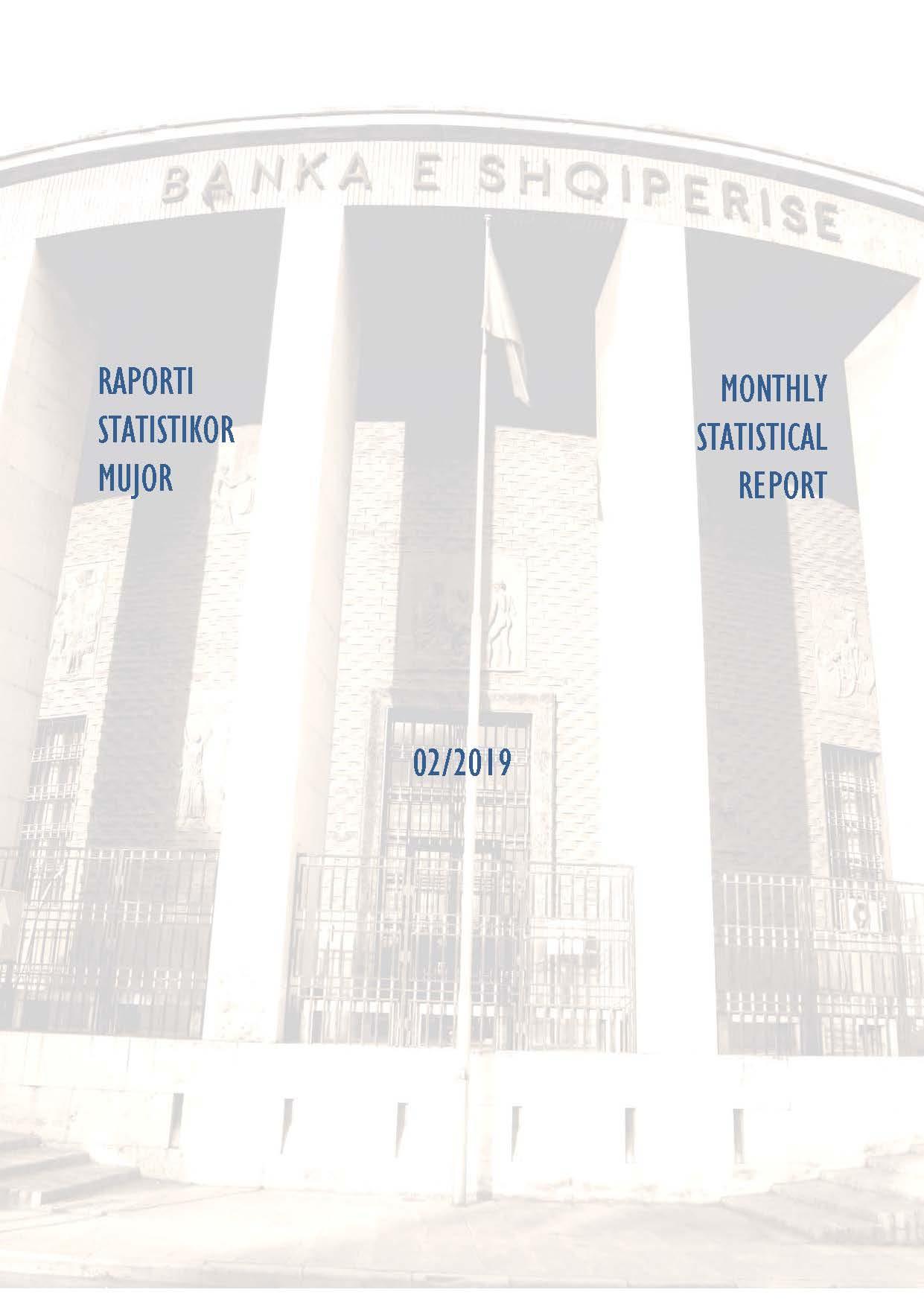 Raporti Statistikor - shkurt '2019
