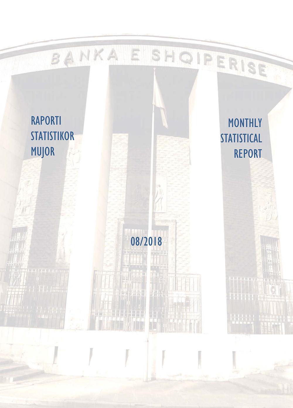 Raporti Statistikor - gusht '18