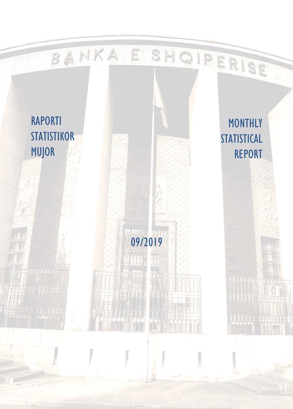 Raporti Statistikor - shtator '2019