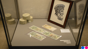 "Temporary exhibition ""Gjergj Kastriot Skanderbeg featured in Albanian coins and banknotes"""