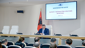 Governor Sejko at the Press Conference on MP decision on, 4 July 2018