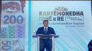 Ceremonia e Prezantimit të Serisë së Re të Kartëmonedhave Shqiptare, 12 shtator 2019