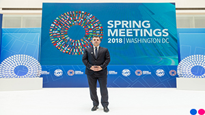 Governor Sejko attends IMF and WB Spring Meetings 2018 in Washington D.C.