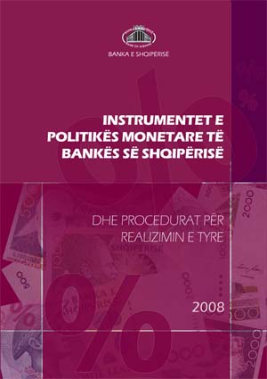 Bank of Albania's monetary policy instruments and procedures for their execution