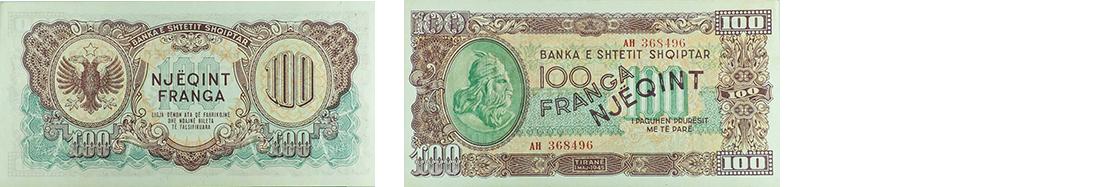 100 Francs, 1945